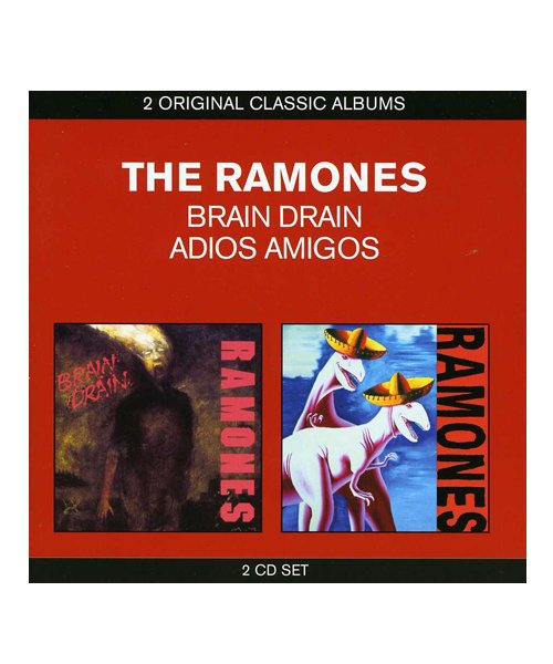 CD / DVD | THE RAMONES / ラモーンズ:BRAIN DRAIN & ADIOS AMIGOS (輸入盤2CD) 商品画像