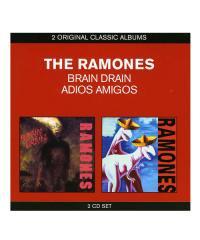 CD / DVD / THE RAMONES / ラモーンズ:BRAIN DRAIN & ADIOS AMIGOS (輸入盤2CD)