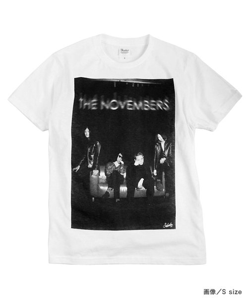 "Official Artist Goods / バンドTなど |THE NOVEMBERS × SIDEMILITIAinc.  ""zeitgeist"" CD+T-shirts SET 商品画像1"