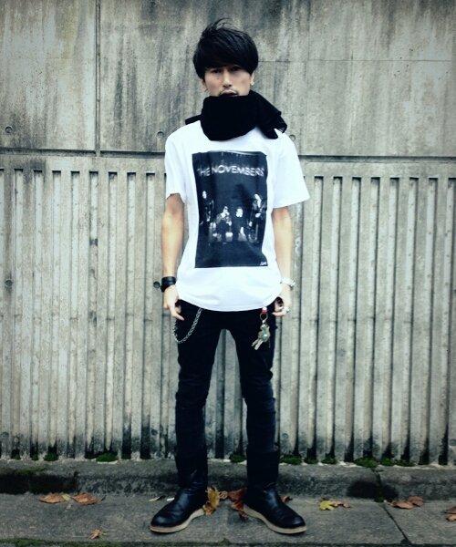 "Official Artist Goods / バンドTなど |THE NOVEMBERS × SIDEMILITIAinc.  ""zeitgeist"" CD+T-shirts SET 商品画像3"