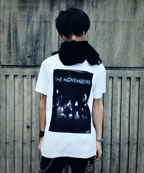 "Official Artist Goods / バンドTなど |THE NOVEMBERS × SIDEMILITIAinc.  ""zeitgeist"" CD+T-shirts SET 商品画像4"