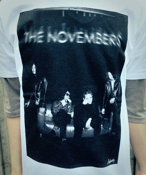 "Official Artist Goods / バンドTなど |THE NOVEMBERS × SIDEMILITIAinc.  ""zeitgeist"" CD+T-shirts SET 商品画像5"