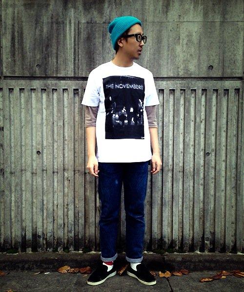 "Official Artist Goods / バンドTなど |THE NOVEMBERS × SIDEMILITIAinc.  ""zeitgeist"" CD+T-shirts SET 商品画像6"