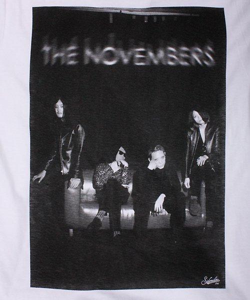 "Official Artist Goods / バンドTなど |THE NOVEMBERS × SIDEMILITIAinc.  ""zeitgeist"" CD+T-shirts SET 商品画像8"