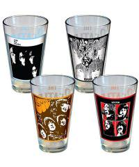 THE BEATLES<br>【 THE BEATLES ALBUM PINT GLASS SET 】