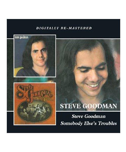 CD / DVD   STEVE GOODMAN / スティーヴ グッドマン:S.T./ SOMEBODY ELSE'S TROUBLES (輸入盤2CD) 商品画像