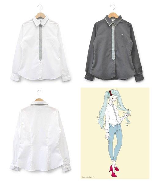 PIIT / ピット   初音ミク × PIIT / PT-CFHM1402:ミクシャツ 商品画像