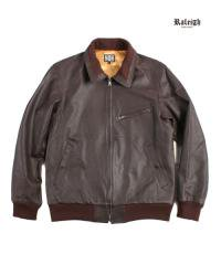 "RALEIGH×THE MACKSHOW<br>【 ""The CAVERN"" LEATHER JACKET 】"