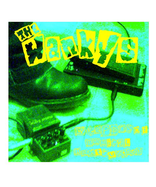 CD / DVD | THE WANKYS / ワンキーズ:WEAPONS OF MUSICAL DESTRUCTION (日本盤CD+DVD) 商品画像