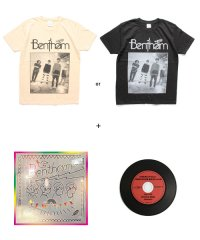 "Official Artist Goods / バンドTなど / Bentham × SIDEMILITIAinc.  ""NEW LIFE"" CD +T-SHIRT+MIX CD SET"