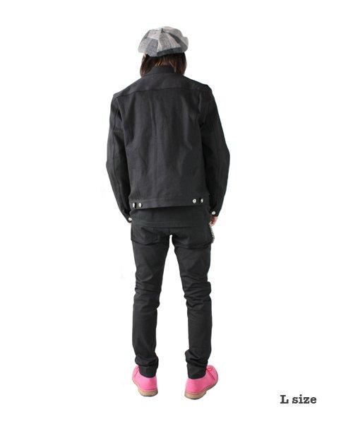 """RALEIGH / ラリー(RED MOTEL / レッドモーテル)  RALEIGH × SIDEMILITIA / ラリー × サイドミリティア  RALEIGH jean """"激情のブラックスレンダー"""" DENIM JACKET (FLESH) 商品画像10"""
