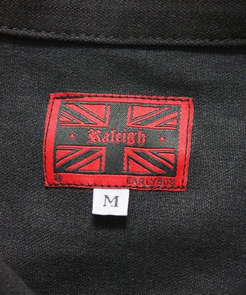 """RALEIGH / ラリー(RED MOTEL / レッドモーテル)  RALEIGH × SIDEMILITIA / ラリー × サイドミリティア  RALEIGH jean """"激情のブラックスレンダー"""" DENIM JACKET (FLESH) 商品画像2"""