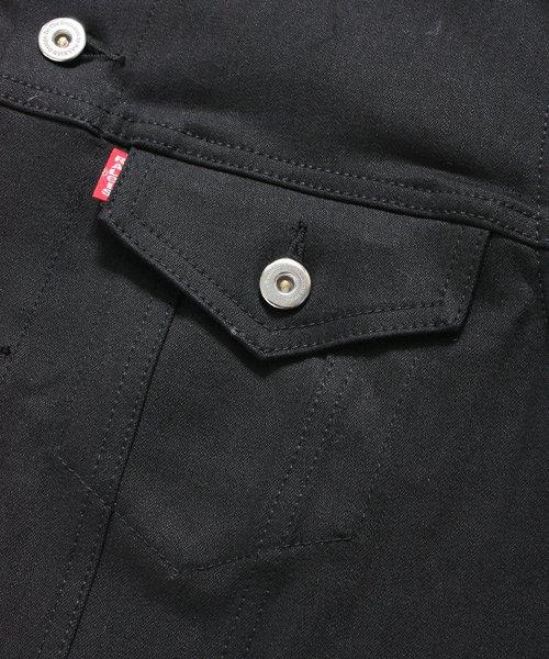 """RALEIGH / ラリー(RED MOTEL / レッドモーテル)  RALEIGH × SIDEMILITIA / ラリー × サイドミリティア  RALEIGH jean """"激情のブラックスレンダー"""" DENIM JACKET (FLESH) 商品画像6"""
