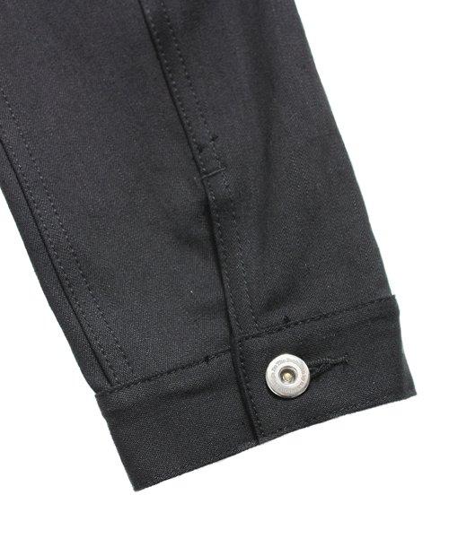 """RALEIGH / ラリー(RED MOTEL / レッドモーテル)  RALEIGH × SIDEMILITIA / ラリー × サイドミリティア  RALEIGH jean """"激情のブラックスレンダー"""" DENIM JACKET (FLESH) 商品画像7"""