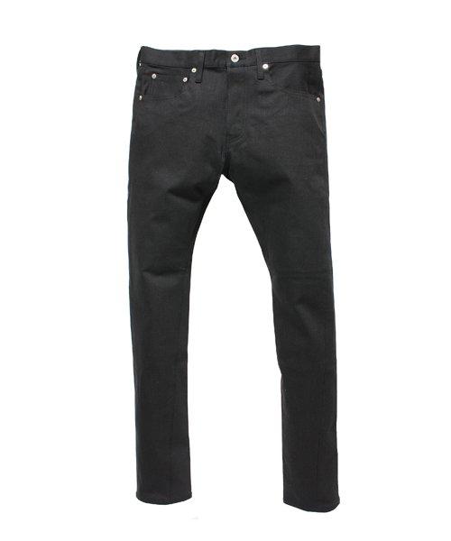 """RALEIGH / ラリー(RED MOTEL / レッドモーテル)   SIDEMILITIA× RALEIGH jeans """"激情のブラックスリム"""" DENIM PANTS(FLESH) 商品画像"""