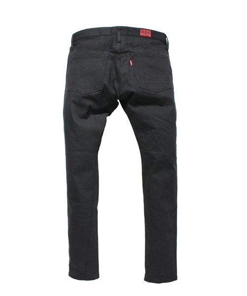 """RALEIGH / ラリー(RED MOTEL / レッドモーテル)  SIDEMILITIA× RALEIGH jeans """"激情のブラックスリム"""" DENIM PANTS(FLESH) 商品画像1"""