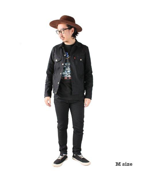 """RALEIGH / ラリー(RED MOTEL / レッドモーテル)  SIDEMILITIA× RALEIGH jeans """"激情のブラックスリム"""" DENIM PANTS(FLESH) 商品画像12"""