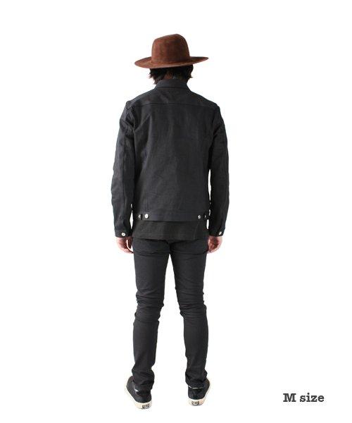 """RALEIGH / ラリー(RED MOTEL / レッドモーテル)  SIDEMILITIA× RALEIGH jeans """"激情のブラックスリム"""" DENIM PANTS(FLESH) 商品画像13"""