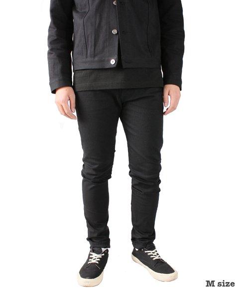 """RALEIGH / ラリー(RED MOTEL / レッドモーテル)  SIDEMILITIA× RALEIGH jeans """"激情のブラックスリム"""" DENIM PANTS(FLESH) 商品画像14"""