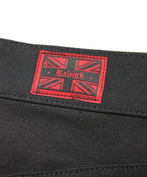 """RALEIGH / ラリー(RED MOTEL / レッドモーテル)  SIDEMILITIA× RALEIGH jeans """"激情のブラックスリム"""" DENIM PANTS(FLESH) 商品画像2"""