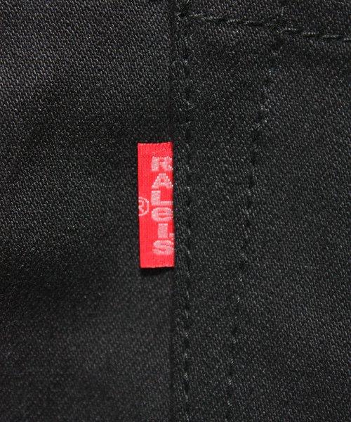"""RALEIGH / ラリー(RED MOTEL / レッドモーテル)  SIDEMILITIA× RALEIGH jeans """"激情のブラックスリム"""" DENIM PANTS(FLESH) 商品画像3"""