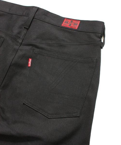 """RALEIGH / ラリー(RED MOTEL / レッドモーテル)  SIDEMILITIA× RALEIGH jeans """"激情のブラックスリム"""" DENIM PANTS(FLESH) 商品画像6"""