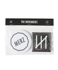THE NOVEMBERS<br>【 Logo badge set(MERZ-0034)】
