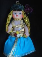 ベリーダンサー風トルコ人形 ポプリ入り小J