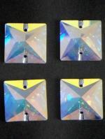 クリスタル 正方形大 4個セット