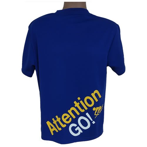DRYメッシュTシャツ Attention GO!