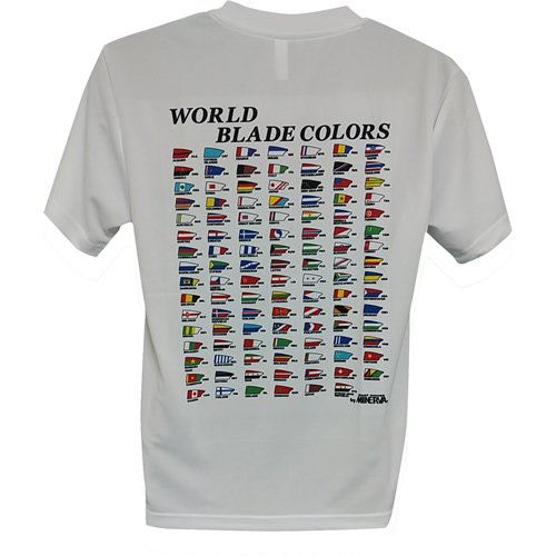 DRYメッシュTシャツ WORLD BLADE COLORS<img class='new_mark_img2' src='https://img.shop-pro.jp/img/new/icons15.gif' style='border:none;display:inline;margin:0px;padding:0px;width:auto;' />