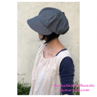 <img class='new_mark_img1' src='//img.shop-pro.jp/img/new/icons1.gif' style='border:none;display:inline;margin:0px;padding:0px;width:auto;' />Cogao casquette ブルー