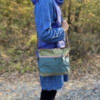 Colorful bag ダークブラウン