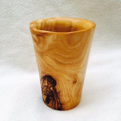 オリーブの木 コップ makhruti