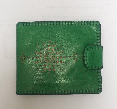 二つ折り財布 みどり02