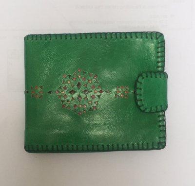 【入荷待ち】二つ折り財布 みどり03