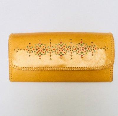 【入荷待ち】長財布 ポケット式 黄色02