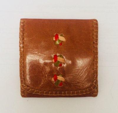 【入荷待ち】三つ折り財布S 茶01
