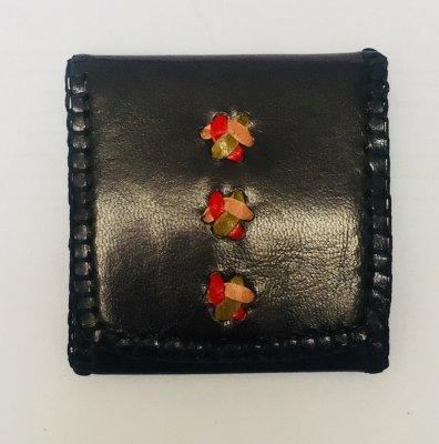 【入荷待ち】三つ折り財布S 黒01