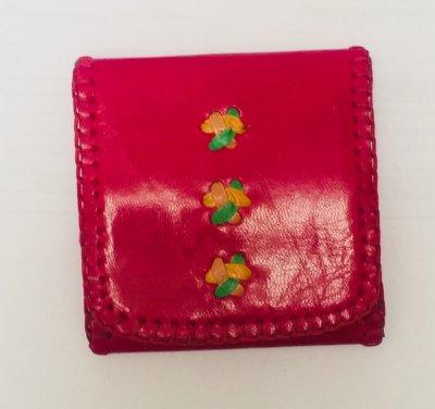 【入荷待ち】三つ折り財布S ピンク01