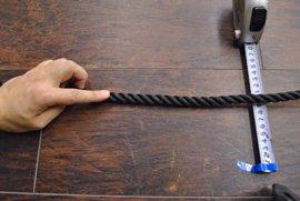 ロープ PE(ポリエチレン)ロープ黒色 分径12mm お得な200m巻!