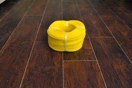 ロープ PE(ポリエチレン)ロープ黄色 分径4mm お得な200m巻!
