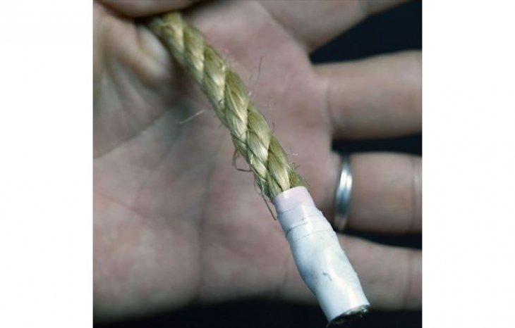 ロープ 麻ロープ 分径8mm 1m単位切り売り