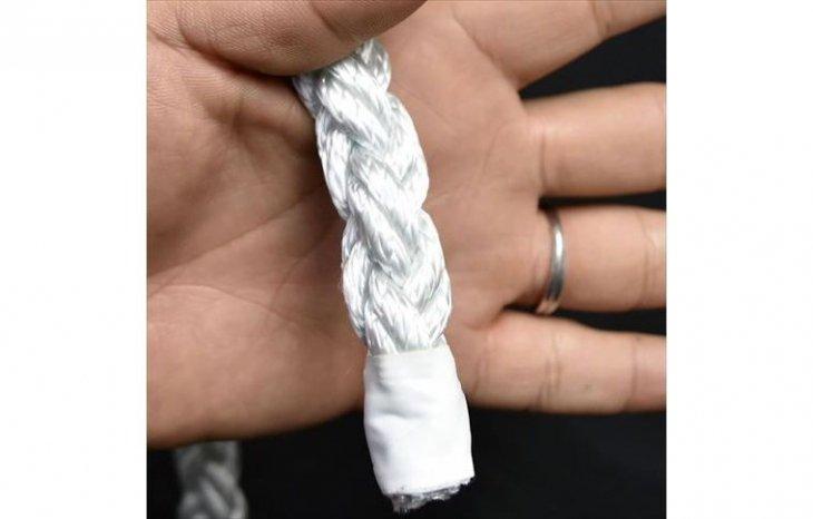 ロープ ナイロンクロスロープ 分径16mm 切り売り