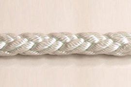 ロープ ナイロンクロスロープ 分径8mmお得な200m巻