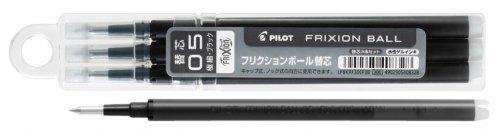PILOT(パイロット)  LFBKRF30EF3(B・R・L) フリクションボール0.5mm替芯 3本セット