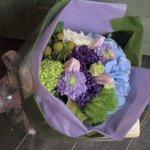 父の日ギフト「紫陽花のブーケ」