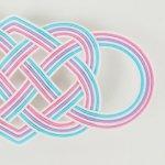 洒落水引【帯留め 七本結び 大】露草・撫子・菫色<img class='new_mark_img2' src='https://img.shop-pro.jp/img/new/icons14.gif' style='border:none;display:inline;margin:0px;padding:0px;width:auto;' />