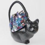 コシェルドゥ【猫(黒)バッグ 】梅屋オリジナル巾着 アリス