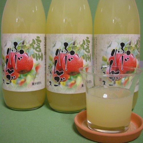 りんごジュース(天然果汁100%):...